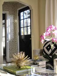 Leopard Print Bathroom Wall Decor by Simple Details Diy Tanzania Wallpaper Knock Off I Want To Do