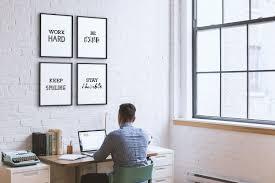 wietre premium poster 4er set motivation bilder mit sprüchen collage goals bild schwarz weiß din a4 zimmer deko wohnung wohnzimmer büro