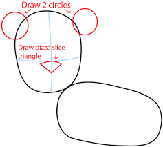 Step 3 Drawing a Cartoon Lion in Easy Steps Lesson