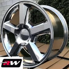 100 20 Inch Truck Rims X85 Inch RW 5308 Wheels LTZ For Chevy Chrome 6x1397