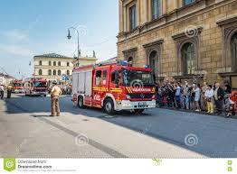Fire Day Parade - Odeonsplatz - Munich, Germany Editorial Image ...