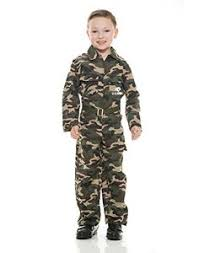 Charades Army Jumpsuit Small