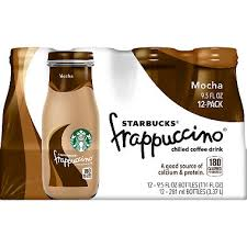 Starbucks Frappuccino Coffee Drink Mocha 95 Oz Bottles 12 Pk