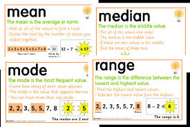 mode median and range copy of median mode and range lessons tes teach