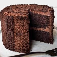 moist eggless chocolate cake with vinegar