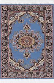 Medium Size LBlue Turkish Carpet