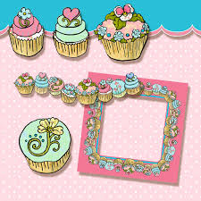 Here s the newest Birthday Cupcake Clip art graphics from Audrey Jeanne s Expressions