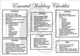 Printable Wedding Checklist Uk