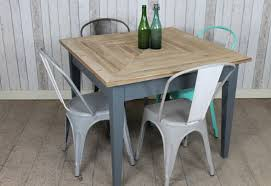 VINTAGE RUSTIC STYLE SQUARE TABLE