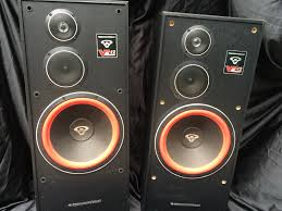 cerwin vega ve12 high end floor standing speakers in leamington