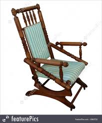 Rocking Chair: Picture Of Antique Rocking Chair Old Fashioned House ...