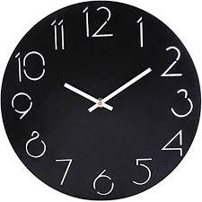 wanduhr vintage shop 12 zoll wanduhr lautlos vintage uhr uhren wall clock ohne tickgeräusche wohnzimmer
