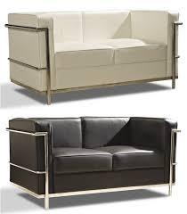 le corbusier canape leonidas canapé design inspiré par charles le corbusier en cuir