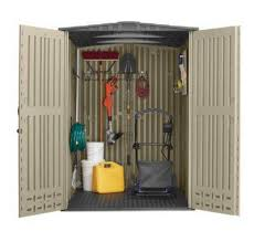 Rubbermaid 7x7 Storage Building Assembly Instructions by Shop Rubbermaid Roughneck Storage Shed Common 5 Ft X 6 Ft