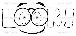 Eyes Coloring Pages Clipart Kid