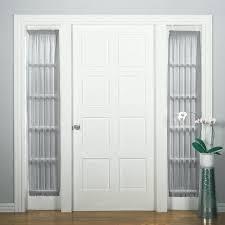 front door sidelight window curtains choosing home design ideas