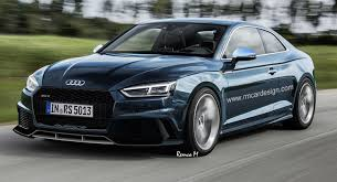 New Audi S5 Puts Its Sunday Clothes Be es An RS