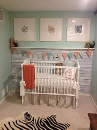 Shiplap Board Walls In Nursery