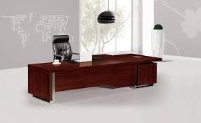 bureau contemporain bois massif en chne massif contemporain ethnicraft se rapportant à bureau bois