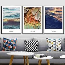 feather seascape wand bilder leinwand bild poster und drucke