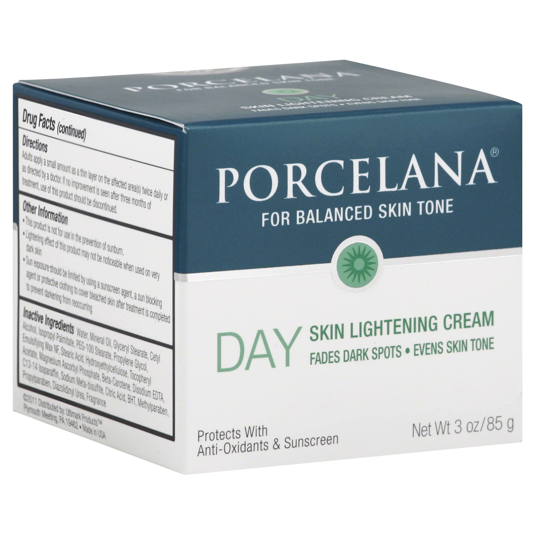 Porcelana Day Skin Lightening Cream - 3oz