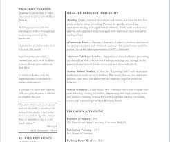 Sample Resume For Kindergarten Teacher Admin Assistant Free Com