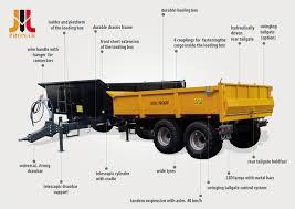 Dump Trailer PRONAR T679/4 - Universal Trailer