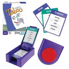 Taboo Card And Board Games