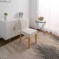 esszimmer low back stuhl slip abdeckung hotel salon club bar verwenden 13 7 18 9 zoll breite 15 18 9 zoll zurück höhe
