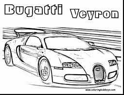 Track Coloring Page Racing Pages