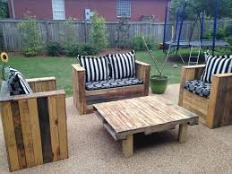 Popular Of DIY Wood Outdoor Furniture Pallet Patio Plans Recycled Things