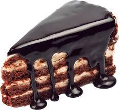 Chocolate cake 1 clipart 2400px 300dpi by EXOstock
