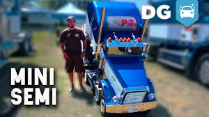 The Smallest (Drivable) Freightliner Semi-Trailer Truck You'll Ever ... Lil Big Rig Converting Pickups Into Mini Semi Tractors Aoevolution Whats That You Say Youd Like To See Another Towintuesday Tractor Trailers Gokart World Jual Wpl C14 1per16 24g 2ch 4wd Offroad Rc Truck Di 116 15kmh Offroad Semitruck With Mornin Miniacs Check Out This Incredible Truck Isolated On White Commercial Realistic Cargo Lorry Semitruck Imgur Opening The Show Today Is A Frickin Awesome 2001 Isuzu Npr Awesome Mini Trucks Amazing Hand Made Trucks Engine The Smallest Drivable Freightliner Semitrailer Youll Ever