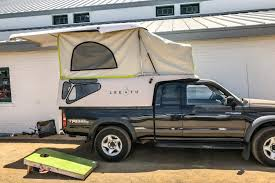 100 Pickup Truck Sleeper Cab The Lightweight PopTop Camper Revolution GearJunkie