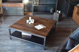 table basse industrielle belgique le bois chez vous