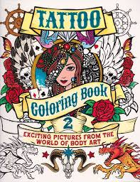 Booktopia Has Tattoo Coloring Book Exciting Pictures From The World Of Body Art By Patience Coster Buy A Discounted Paperback 2