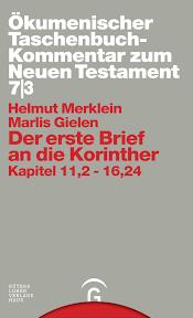 Helmut Merklein Der Erste Brief An Die Korinther Gütersloher