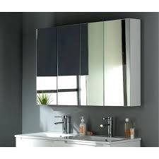 miroir salle de bain cdiscount armoire miroir 120 cm blanc laquac