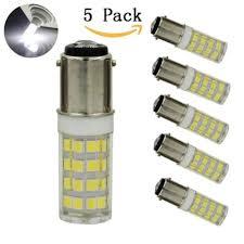 sratgd ba15d led light bulb 120v 5 watt ac110v 130v t3 t4 c7 s6