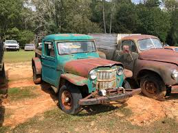100 Willys Jeep Truck Truck In The Graveyard Canst Tell What Year Though