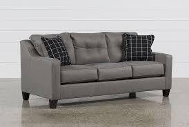 Used Tempurpedic Sleeper Sofa by Brindon Charcoal Queen Sofa Sleeper Living Spaces