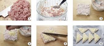 canapé york receta canapés de york y mayonesa gratinados ybarra en tu cocina