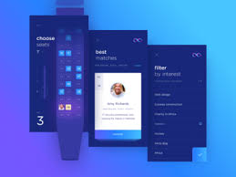 Hyperloop app UI design by Cuberto Dribbble