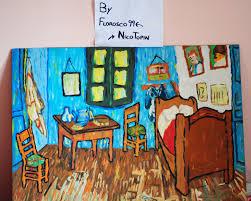 Bedroom in Arles 1889 Van Gogh in Plasticine by Florosco99 on