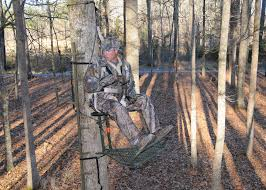 John Louk With The Treestand Manufacturers Association Demonstrates A Properly Secured Safety Harness When Using