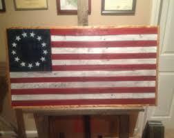 Reclaimed Wood American FlagHandmade FlagUSA FlagRustic Home Decor
