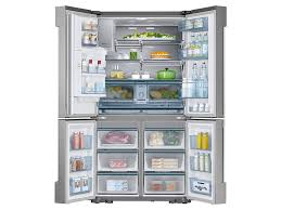 24 cu ft counter depth 4 door flex chef collection refrigerator