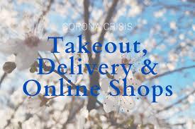 corona crisis table service take away delivery