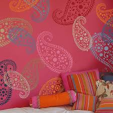 Paisley Stencils Reusable Wall For DIY Decor Cutting Edge