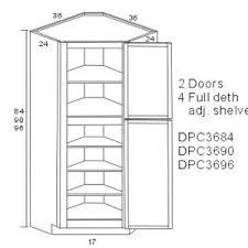 best 25 corner pantry cabinet ideas on pinterest corner kitchen